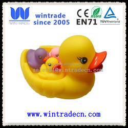 wholesale non toxic print rubber duck bulk plastic duck toy