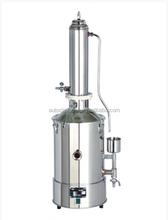 5L / h a 20L / h destilador de tipo WD-TS agua aparatos de destilación tipo torre calentado eléctricamente