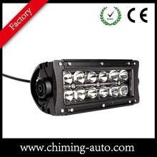 Promotion 7.5 inch due row led driving light bar 36w led light bar Offroad
