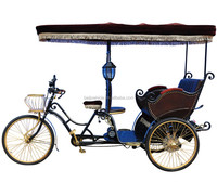 Factory directly passenger use electric three wheel rickshaws for sale in china