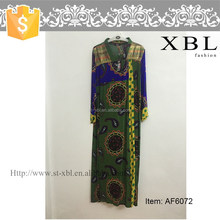 AF6071 traditional kaftan turkey muslim dress