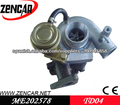 TF035 turbo de Mitsubishi ME202578,49135-03130