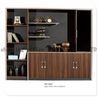 HT-327 cheap wood combination mutil-drawers vertical office filing cabinet