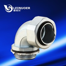 China zinc alloy 90-degree elbow union joint fitting hose connector