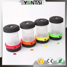 Ultra bright multifunction portable camping gear 2 in 1 equipment led lantern