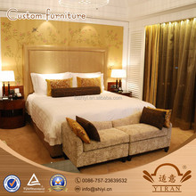 Foshan Contemporary Boutique Commercial Luxury Hotel double bed room design furniture set