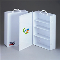 High quality 4 layer Metal medical Cabinet First Aid kit