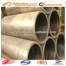 S235J0 LSAW hollow low alloy cold formed black welded steel pipe