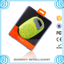 2015 Fascinating waterproof Mini X6 led light bluetooth speaker with usb sd card reader