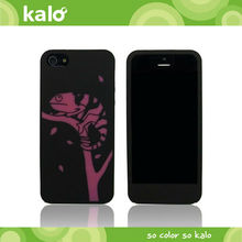 silicone mobile case for iPhone 5