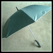 Outdoor umbrella personal sun umbrella cover vinyl ,straight golf umbrella with electric fan