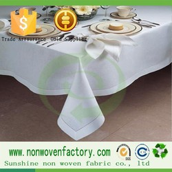 100% pp spunbond nonwoven fabric used to make table cloth