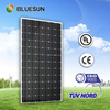 Bluesun top quality cheap mono 260w high voltage solar panel camping