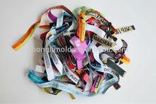 personalizados de diferentes diseños de pulsera con todo tipo de cierre para la música fesitval