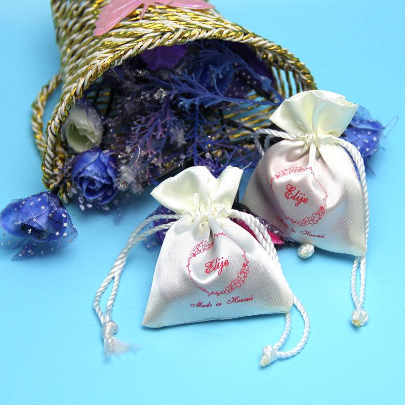 Hot sales small mini S.atin drawstring bag for menstrual cup/menstrual cup bag