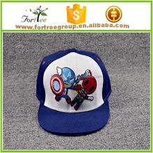 children custom fashion embroidery design baseball cap kids sports cap