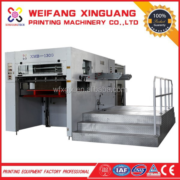 XMB-1300 corrugated carton semi automatic manual paper creasing machine