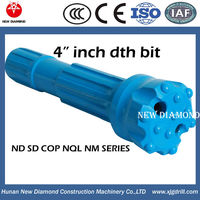 "atlas copco 4"" 115mm flat face spherical DHD340 dth bit"