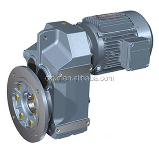 F Series Helical Gear reducer with motor