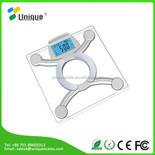 For iphone/ipad/ Android/Samsung digital body fat bluetooth weight scale