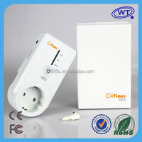 Smart Power Plug Socket GSM temperature controller electric thermostat with timer
