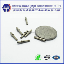 Customed nickel plated brass spring loaded pogo pin connector