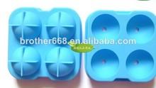 silicona bola de hielo del molde de la bandeja, de hielo de silicona moldes pop, de hielo de silicona moldes