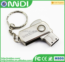 8GB Metal USB Flash Drive For Promotional