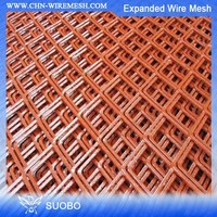 5X10 Expanded Metal Mesh Stainless Steel Shower Drain Security Fence Expanded Metal Sheet