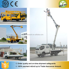 Wholesale Cheap Fast Delivery 4wd mobile boom lift truck