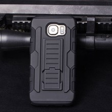 2015 Best Selling mobile phone shell Armor Impact Holster Belt Case For Samsung Galaxy S6 Active,For Galaxy S6 active Case Cover