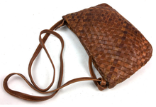 Classic cowhide leather ladies knitting shoulder bags