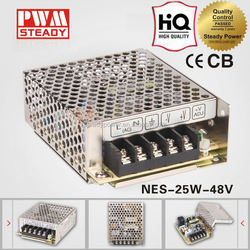 Power supply LED driver NES-25-48 48V 25W 0.5a switching power supply with CE