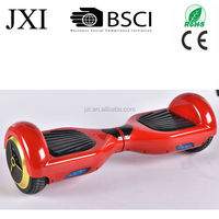 2015 newest self balancing scooter with bluetooth led light io hawk red