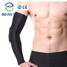 Alibaba Express Collision Avoidance Elbow Support Basketball / Volleyball Custom Arm Sleeves