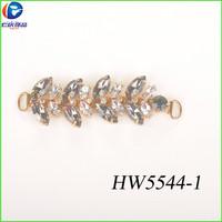 wholesale fashion ribbon and rhinestone shoe accessories