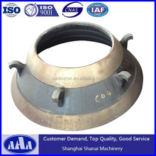 PYB/PYD/PYZ concave and mantles for cone crusher