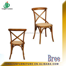 wholesale party rental event crossback chair ,Stacking Cross Back Dining Room Furniture/YJ-085