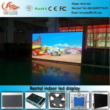 RGX P-40 p6 rental led curtain screen/p6 indoor rental led display/p6 stage rental led display screen