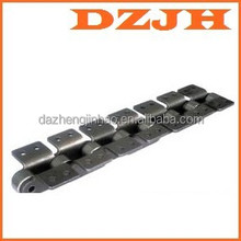 M20K1F2.02 pitch 50 transmission precision roller chain with attachment M series