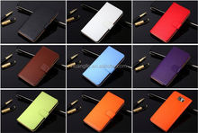 New Model Various colors stand leather For Galaxy A8 A8000 real leather case provide sample