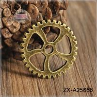 Clock Gears Watch Gears Alloy Pendant Metal Blank Pendants ZX-A25688