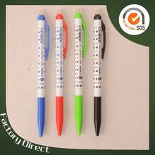 The five-star flower film beautiful plastic erasable ball pen