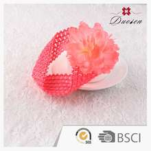 Retro Full Color Fancy Special Crochet Flower Headbands For Hair Accessories Sheets