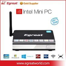 Egreat i6 Atom CPU 3735F intel mini pc intel i5