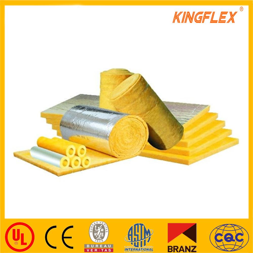 Kingflex fiber glass wool insulation for container house for Fiber wool insulation