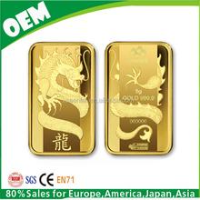 gold dragon bullion bar