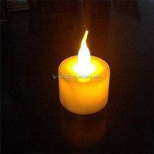 fashion rechargeable tea light candle light led candle