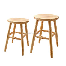 JH-DISPLAY designed children chair/POP pine wood small seat