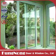 High Quality Modern Indian Window Design Style Aluminium Two Track Sliding Windows with Double Glazed